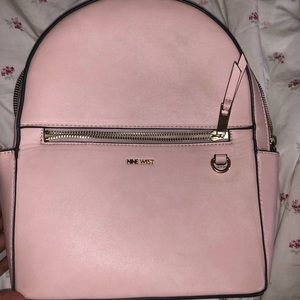 Nine West pink backpack